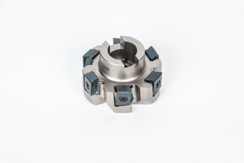 Industry: Automotive <br/>Part Type: Axle Carrier <br/>Tool attaches to standard arbor. <br/>This tool is used to mill the differential bore seat.